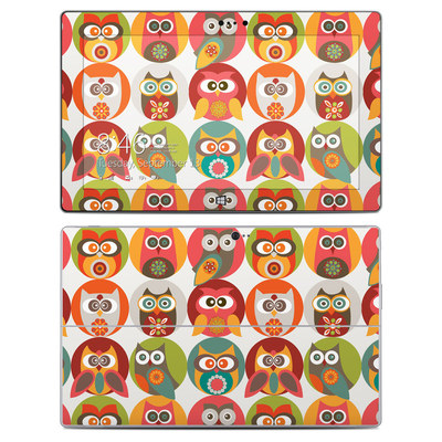 Microsoft Surface 2 Skin - Owls Family