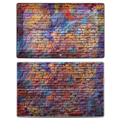 Microsoft Surface 2 Skin - Painted Brick