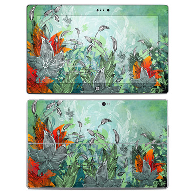Microsoft Surface 2 Skin - Sea Flora