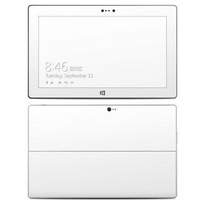 Microsoft Surface 2 Skin - Solid State White