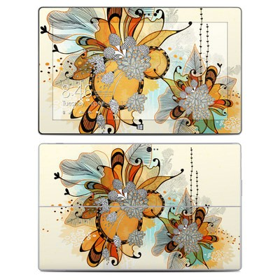 Microsoft Surface 2 Skin - Sunset Flowers