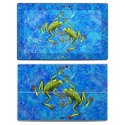 Microsoft Surface 2 Skin - Tiger Frogs