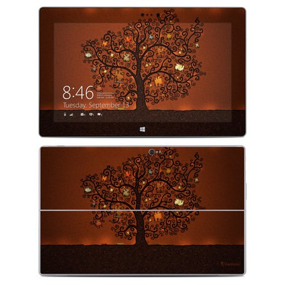 Microsoft Surface 2 Skin - Tree Of Books