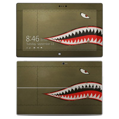 Microsoft Surface 2 Skin - USAF Shark