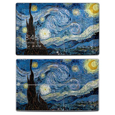 Microsoft Surface 2 Skin - Starry Night