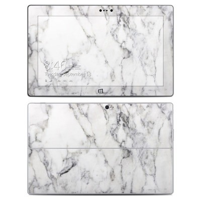Microsoft Surface 2 Skin - White Marble