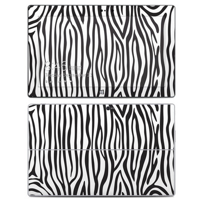 Microsoft Surface 2 Skin - Zebra Stripes