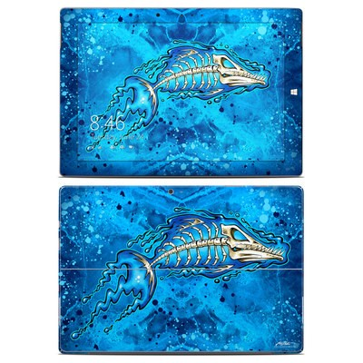Microsoft Surface 3 Skin - Barracuda Bones