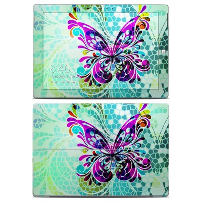 Microsoft Surface 3 Skin - Butterfly Glass