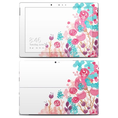 Microsoft Surface 3 Skin - Blush Blossoms