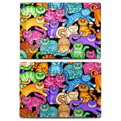 Microsoft Surface 3 Skin - Colorful Kittens