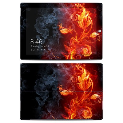 Microsoft Surface 3 Skin - Flower Of Fire