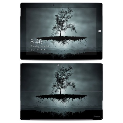 Microsoft Surface 3 Skin - Flying Tree Black