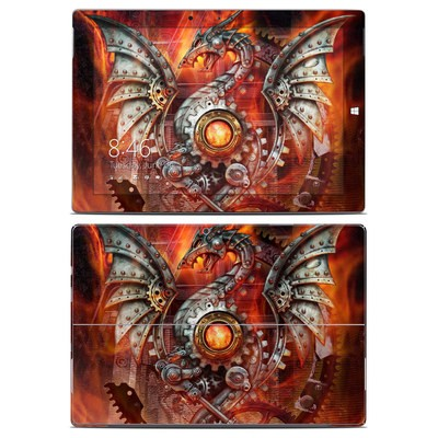 Microsoft Surface 3 Skin - Furnace Dragon