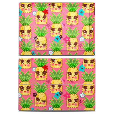 Microsoft Surface 3 Skin - Happy Kawaii Pineapples