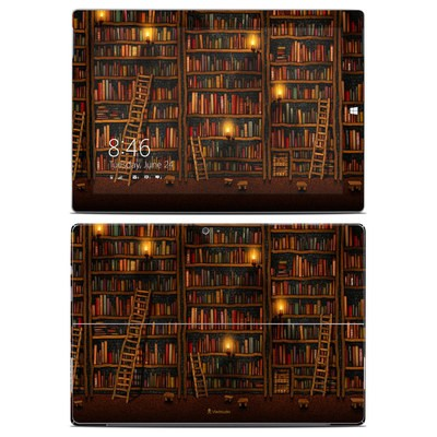 Microsoft Surface 3 Skin - Library
