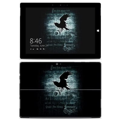 Microsoft Surface 3 Skin - Nevermore