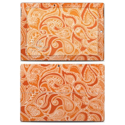 Microsoft Surface 3 Skin - Paisley In Orange