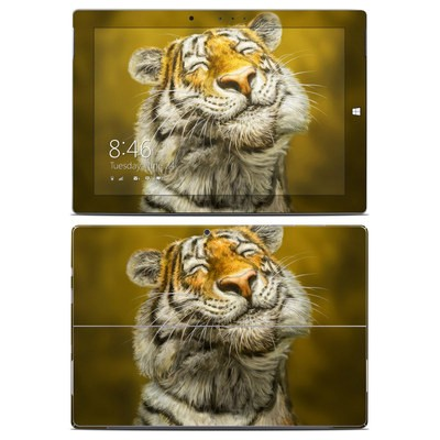 Microsoft Surface 3 Skin - Smiling Tiger