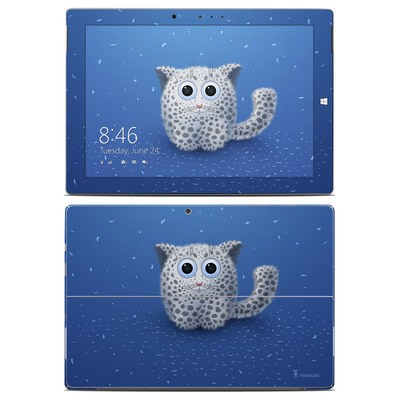 Microsoft Surface 3 Skin - Snow Leopard