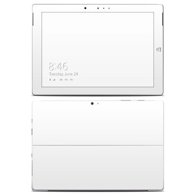 Microsoft Surface 3 Skin - Solid State White