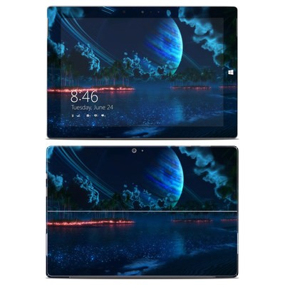 Microsoft Surface 3 Skin - Thetis Nightfall