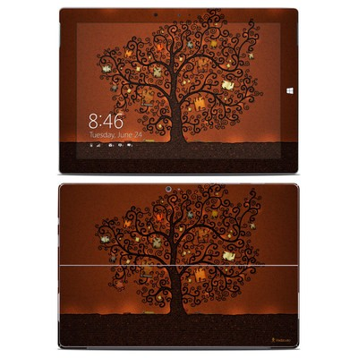 Microsoft Surface 3 Skin - Tree Of Books