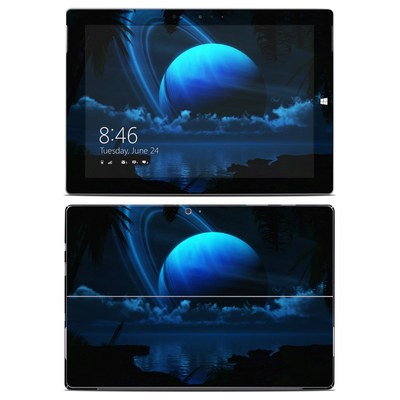Microsoft Surface 3 Skin - Tropical Moon