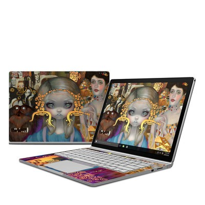 Microsoft Surface Book Skin - Alice in a Klimt Dream