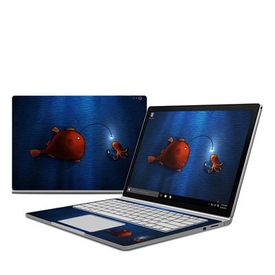 Microsoft Surface Book Skin - Angler Fish