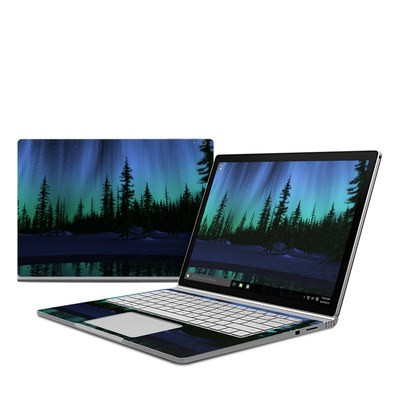Microsoft Surface Book Skin - Aurora