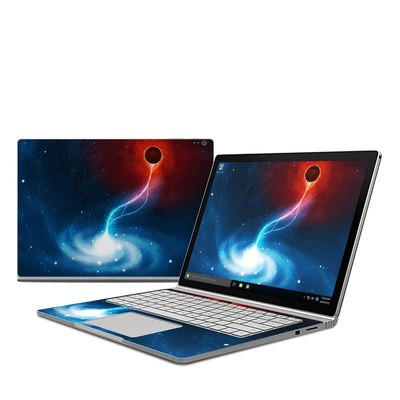 Microsoft Surface Book Skin - Black Hole