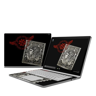Microsoft Surface Book Skin - Black Penny