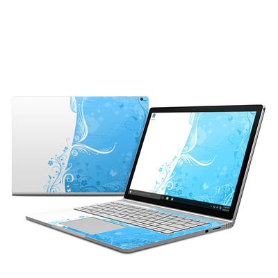 Microsoft Surface Book Skin - Blue Crush