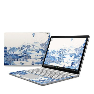 Microsoft Surface Book Skin - Blue Willow