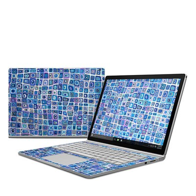 Microsoft Surface Book Skin - Blue Monday