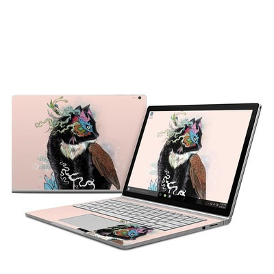 Microsoft Surface Book Skin - Black Magic