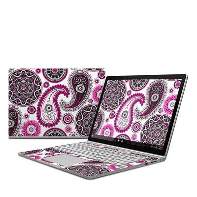 Microsoft Surface Book Skin - Boho Girl Paisley