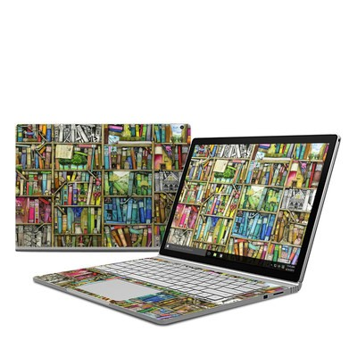 Microsoft Surface Book Skin - Bookshelf