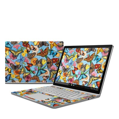 Microsoft Surface Book Skin - Butterfly Land