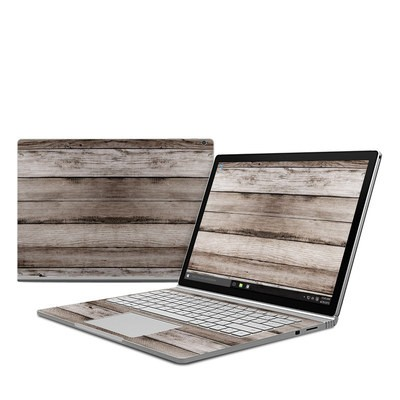 Microsoft Surface Book Skin - Barn Wood