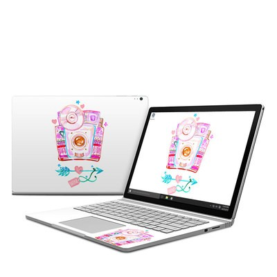 Microsoft Surface Book Skin - Camera Shine