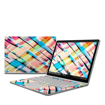 Microsoft Surface Book Skin - Check Stripe