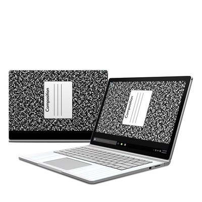 Microsoft Surface Book Skin - Composition Notebook
