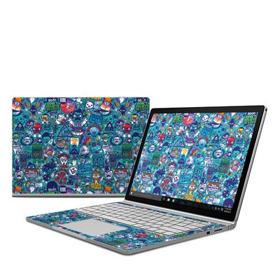 Microsoft Surface Book Skin - Cosmic Ray