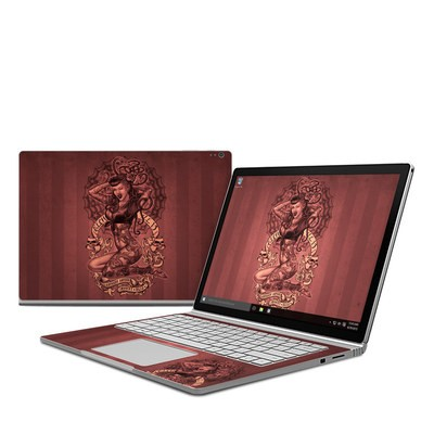 Microsoft Surface Book Skin - If Looks Could Kill