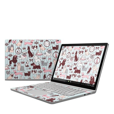Microsoft Surface Book Skin - Doggy Boudoir