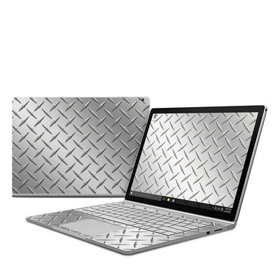 Microsoft Surface Book Skin - Diamond Plate