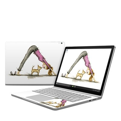 Microsoft Surface Book Skin - Downward Dog