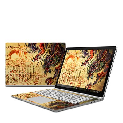 Microsoft Surface Book Skin - Dragon Legend